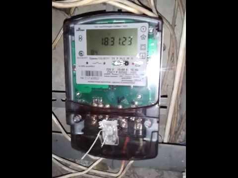 Как снять показания с электросчётчика - saiman