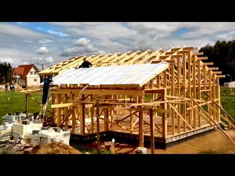 Строим дом своими руками и своими силами (часть 8)