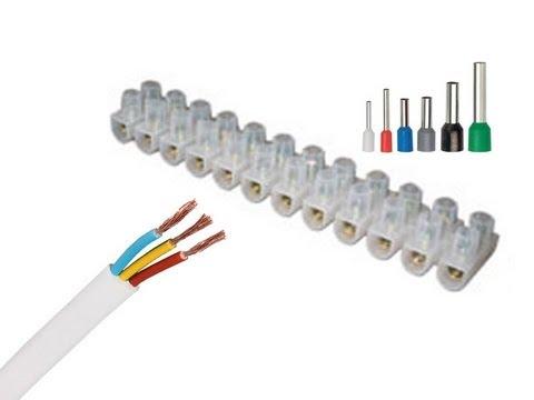 Соединение гибкого провода с жестким проводмом