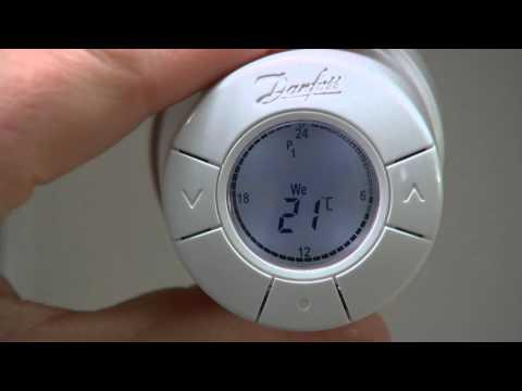 термостата living eco - Установка