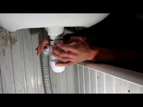 Как прочистить сифон