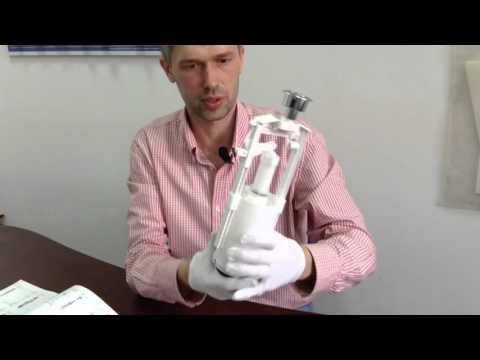 Сливной механизм для керамического бачка производство Alca Plast,модель A2000