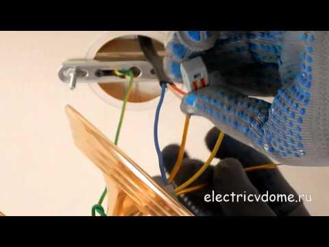 Как подключить люстру на три провода. Установка и подключение люстры на натяжной потолок