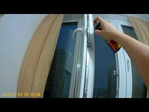 Как обслуживать окна и производить смазку фурнитуры и уплотнителя.