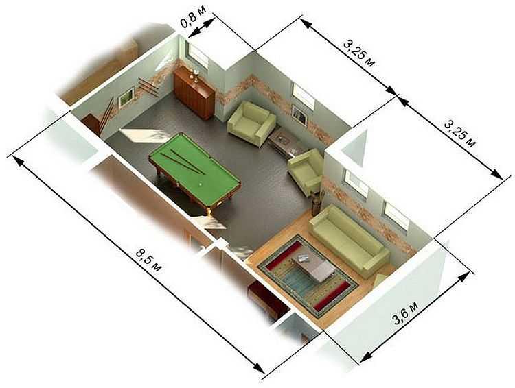 Как рассчитать площадь комнаты - вспоминаем законы геометрии.