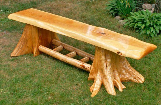 2-1-678x444 Садовая скамейка своими руками - пошаговые инструкции!