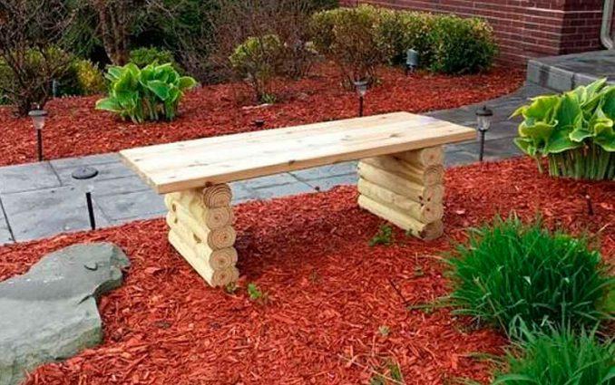 20-678x425 Садовая скамейка своими руками - пошаговые инструкции!
