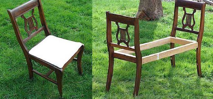 25-678x315 Лавочка для дачи - 150 фото идей деревьяных и металических дачных лавочек и скамеек