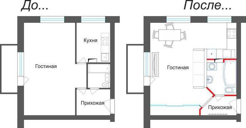 План хрущевки 2 комнаты схема и размеры фото 399