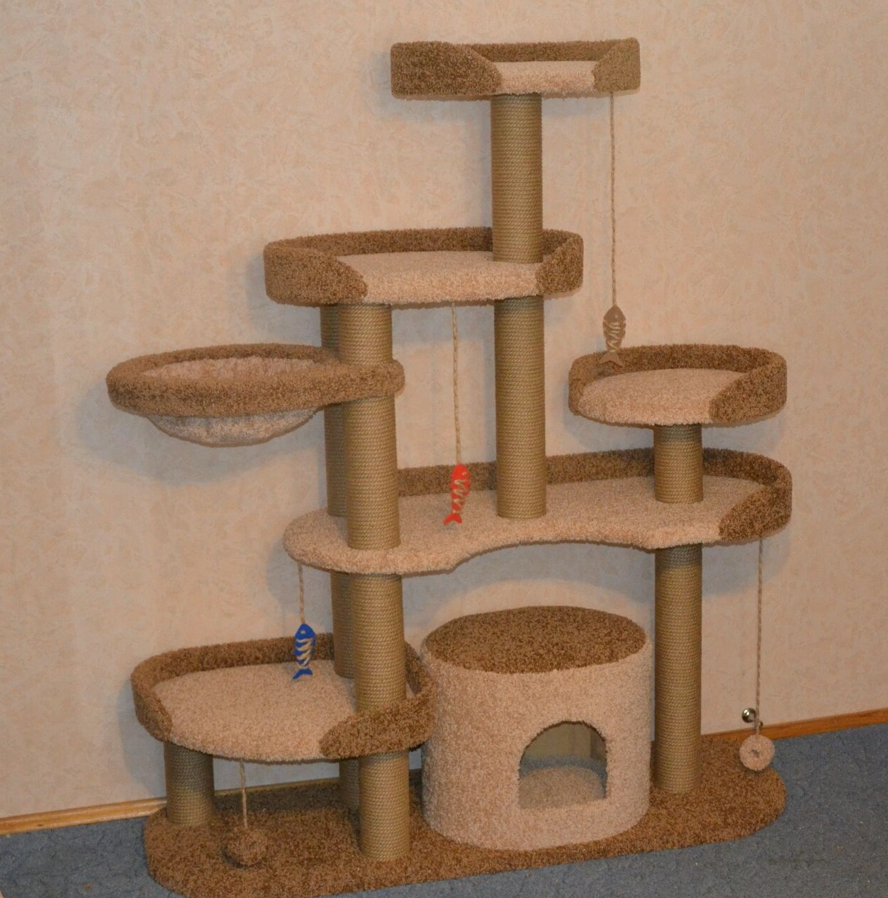 картинки домов для кошек по шагово результате скульптора