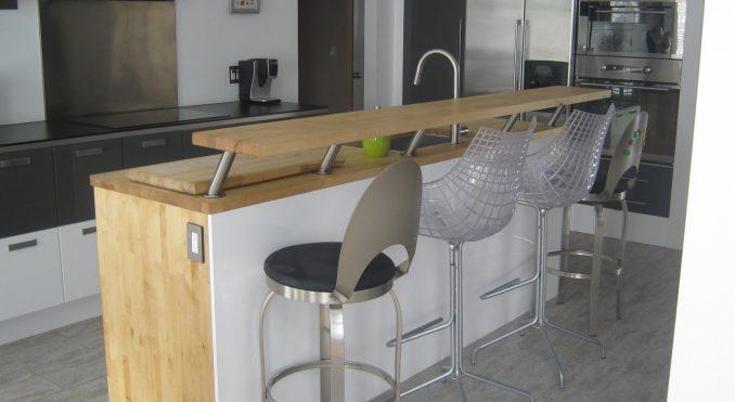 Барная стойка для кухни своими руками