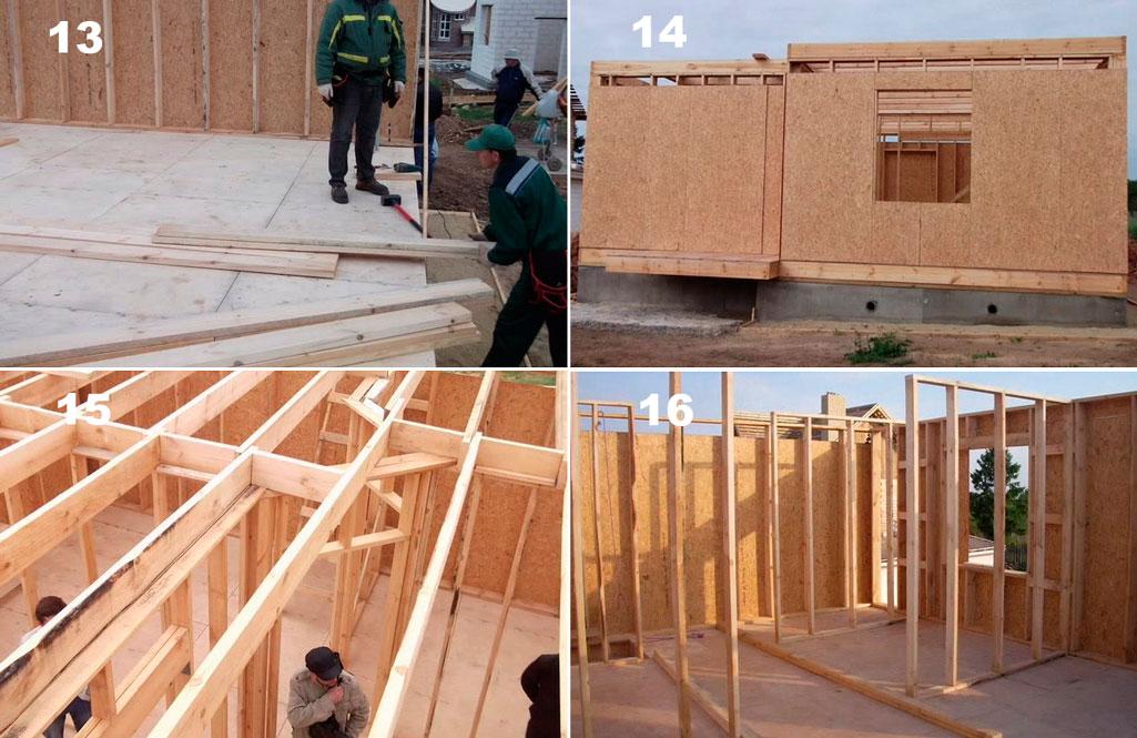 Стройка каркасных домов своими руками 51